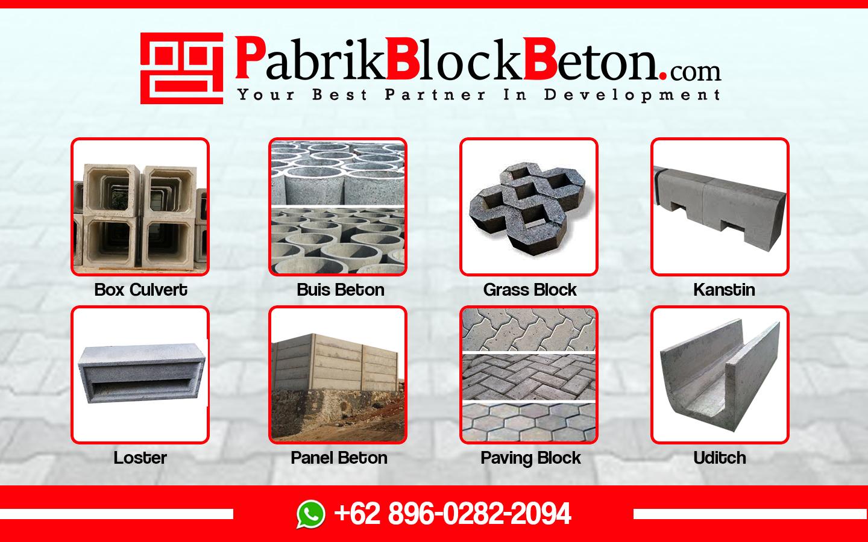 Pabrik Block Beton